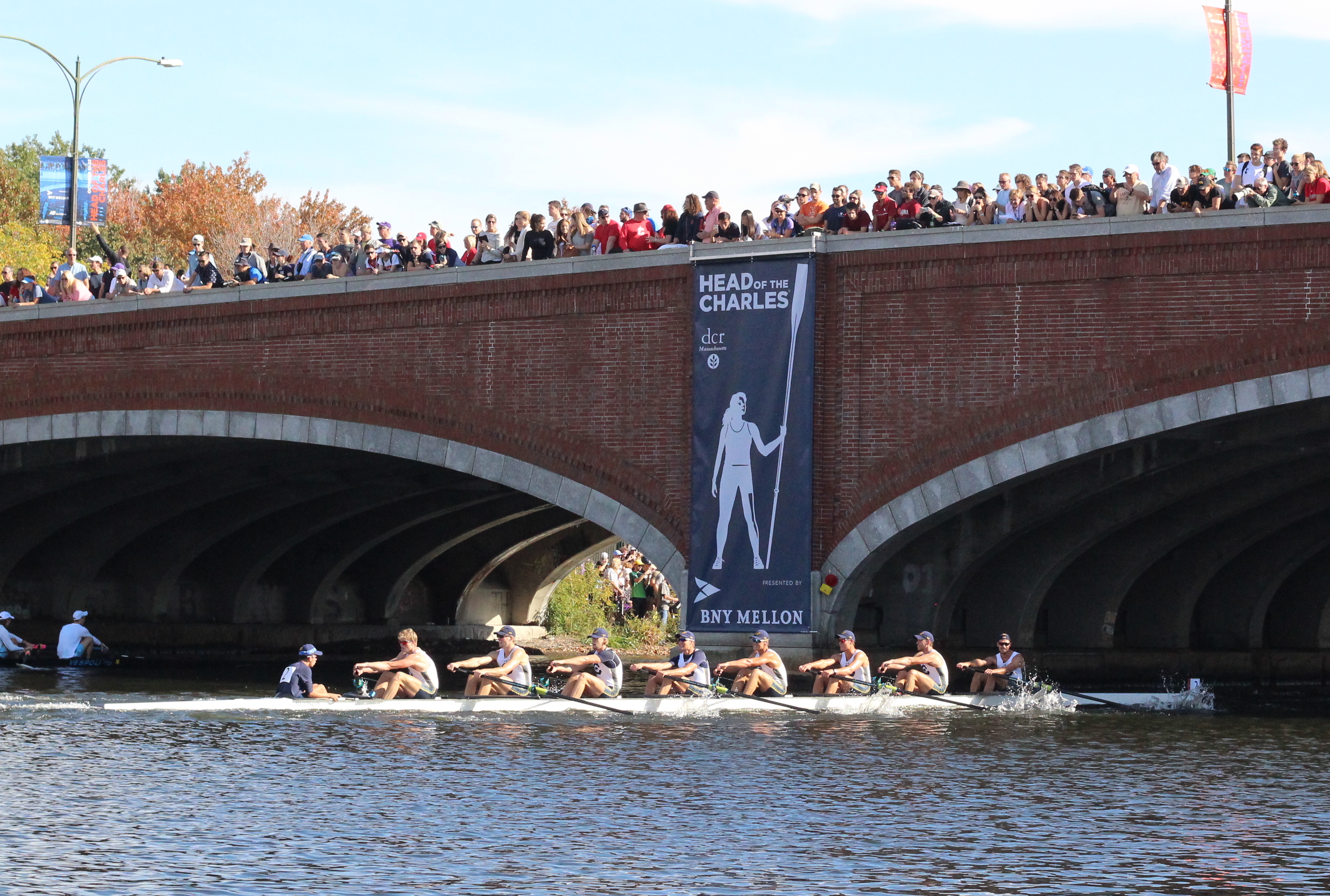 Men's Champ Eights, Cal too Much for Competition, and Course Record