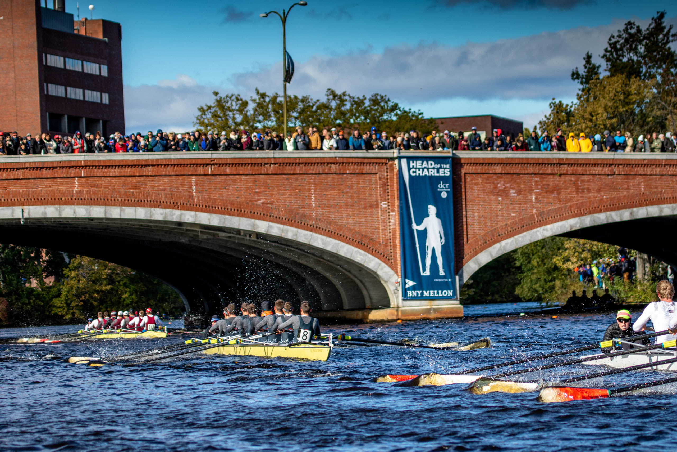 BNY Mellon Returns for Fifth Year as the Lead Sponsor for the 53rd Head Of The Charles® Regatta