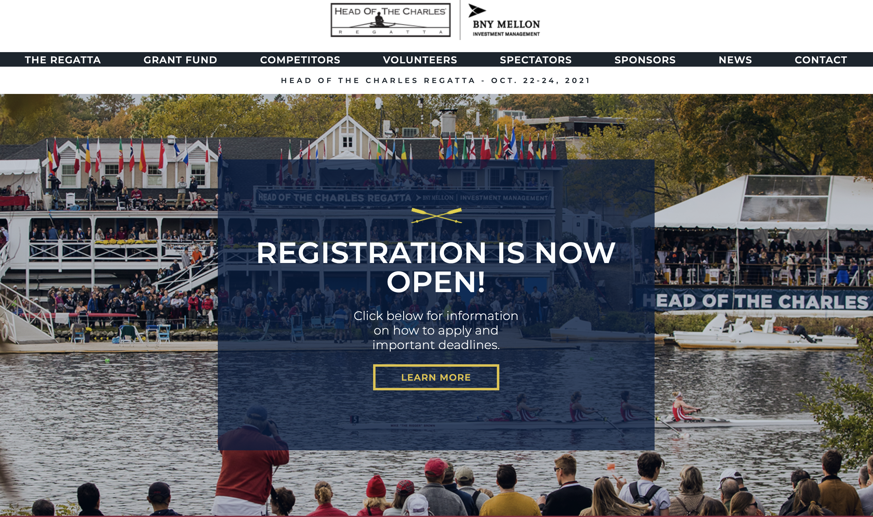 Head Of The Charles Launches New Website With Connelly Partners